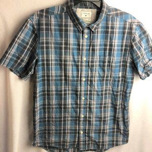 Quiksilver Plaid Everyday Check Button Shirt